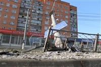 ДТП в районе перекрестка ул. Ложевой с ул. Калинина., Фото: 10