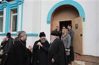 Освящение креста купола Свято-Казанского храма, Фото: 21