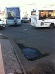 В центре Тулы столкнулись автобус, троллейбус и легковушка, Фото: 2