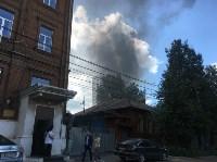 Пожар на на пересечении улиц Гоголевской и Свободы , Фото: 8