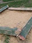Разобранная песочница на Луначарского,63, Фото: 4