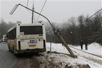 ДТП в Басово: столкнулись два рейсовых автобуса, Фото: 1