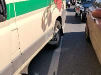 В Туле столкнулись броневик и внедорожник Lexus, Фото: 6