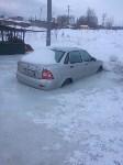 """В Туле вмерзла в лед """"Лада"""", Фото: 2"""