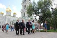 Груздев оценивает ход реставрации в Кремле. 22.06.2015, Фото: 12