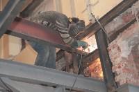 Реставрация Дома офицеров и филармонии. 10.01.2015, Фото: 2