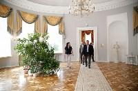 Алексей Дюмин осмотрел  Богородицкий дворец-музей и парк, Фото: 6