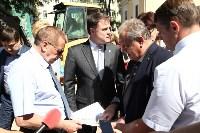 Груздев инспектирует строительство бассейна на Гоголевской. 3.08.2015, Фото: 11