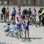 В Туле встретили участников велопробега Москва–Сочи «Помоги встать!», Фото: 14