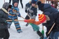 Как туляки провожали зиму на набережной Упы, Фото: 9