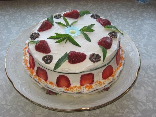 Торт на мамин д.р.