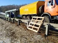 Авария на трассе Тула-Щекино, 10 февраля 2020, Фото: 16