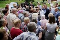 В Щёкино Алексей Дюмин поручил отремонтировать  подъезд дома на Ясенковском проезде, Фото: 5