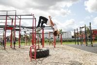 В Туле на набережной Упы открылась уникальная спортплощадка для занятий фитнесом и бодибилдингом, Фото: 12