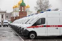 Алексей Дюмин передал региональному Центру медицины катастроф 39 новых автомобилей, Фото: 16
