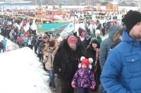 Как туляки провожали зиму на набережной Упы, Фото: 142
