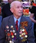 Тульский ветеран и боевое знамя в Москве. 7.05.2015, Фото: 7