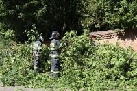 Спасатели ликвидируют последствия непогоды в Туле, Фото: 7