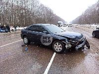 На дороге «Тула-Новомосковск» Ford протаранил Chevrolet, Фото: 2