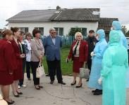 Сотрудники МЧС и Роспотребнадзора учились ликвидировать очаг сибирской язвы, Фото: 8