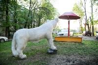 Огромные фигуры кота и собаки, Фото: 4