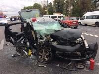 Массовое ДТП в центре Тулы: четверо пострадали, Фото: 10