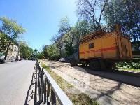 Упавшее дерево перекрыло ул. Болдина, Фото: 8