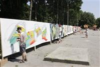 Молодые туляки попытали свои силы на конкурсе граффити, Фото: 6