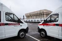 Алексей Дюмин передал региональному Центру медицины катастроф 39 новых автомобилей, Фото: 4