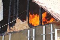 С огнем в жилом доме в селе Теплое боролись три пожарных расчета, Фото: 4