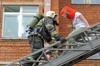 Учения МЧС: В Тульской областной больнице из-за пожара эвакуировали больных и персонал, Фото: 12