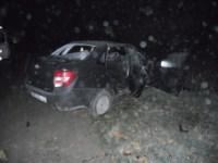 Авария на трассе Тула-Новомосковск ночью 6 октября, Фото: 1
