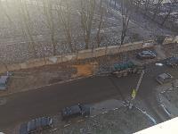 На Косой Горе в Туле ассенизатор сливает отходы под забор парка, Фото: 5