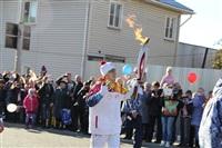 Первый этап эстафеты олимпийского огня: Пролетарский район, Фото: 17