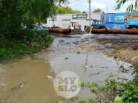 Дворы на Красноармейском проспекте затопило нечистотами, Фото: 6