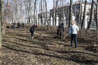 Субботник в Комсомольском парке с Владимиром Груздевым, 11.04.2014, Фото: 49