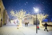 Вечерний снегопад в Туле, Фото: 28