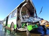 Авария на трассе Тула-Щекино, 10 февраля 2020, Фото: 17