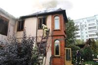 Пожар в доме по ул. Рабочий проезд. 27 сентября, Фото: 11