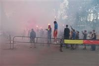 """Файер-шоу от болельщиков """"Арсенала"""". 16 мая 2014 года, Центральный парк, Фото: 5"""