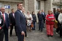 Алексей Дюмин посетил дом в Ясногорске, восстановленный после взрыва, Фото: 34