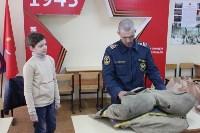 Тульские спасатели провели урок для юнармейцев, Фото: 8