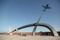 Полномочный представитель Президента России в ЦФО осмотрел мемориал «Защитникам неба Отечества», Фото: 9