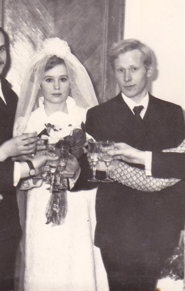 Мои мама и папа. Молодые и счастливые.