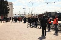 """Установка бронепоезда """"Туляк"""". 22.04.2015, Фото: 47"""