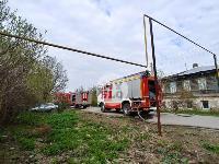 Пожар возле Тульского цирка, Фото: 4