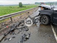 В серьезном ДТП на М-2 в Туле пострадали три человека, Фото: 19