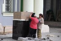 Груздев инспектирует работы в Тульском кремле. 8.09.2015, Фото: 1