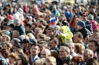 Развод караулов Президентского полка на площади Ленина. День России-2016, Фото: 8