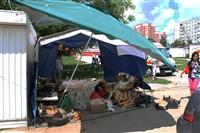 В Туле легковушка протаранила торговую палатку, Фото: 4